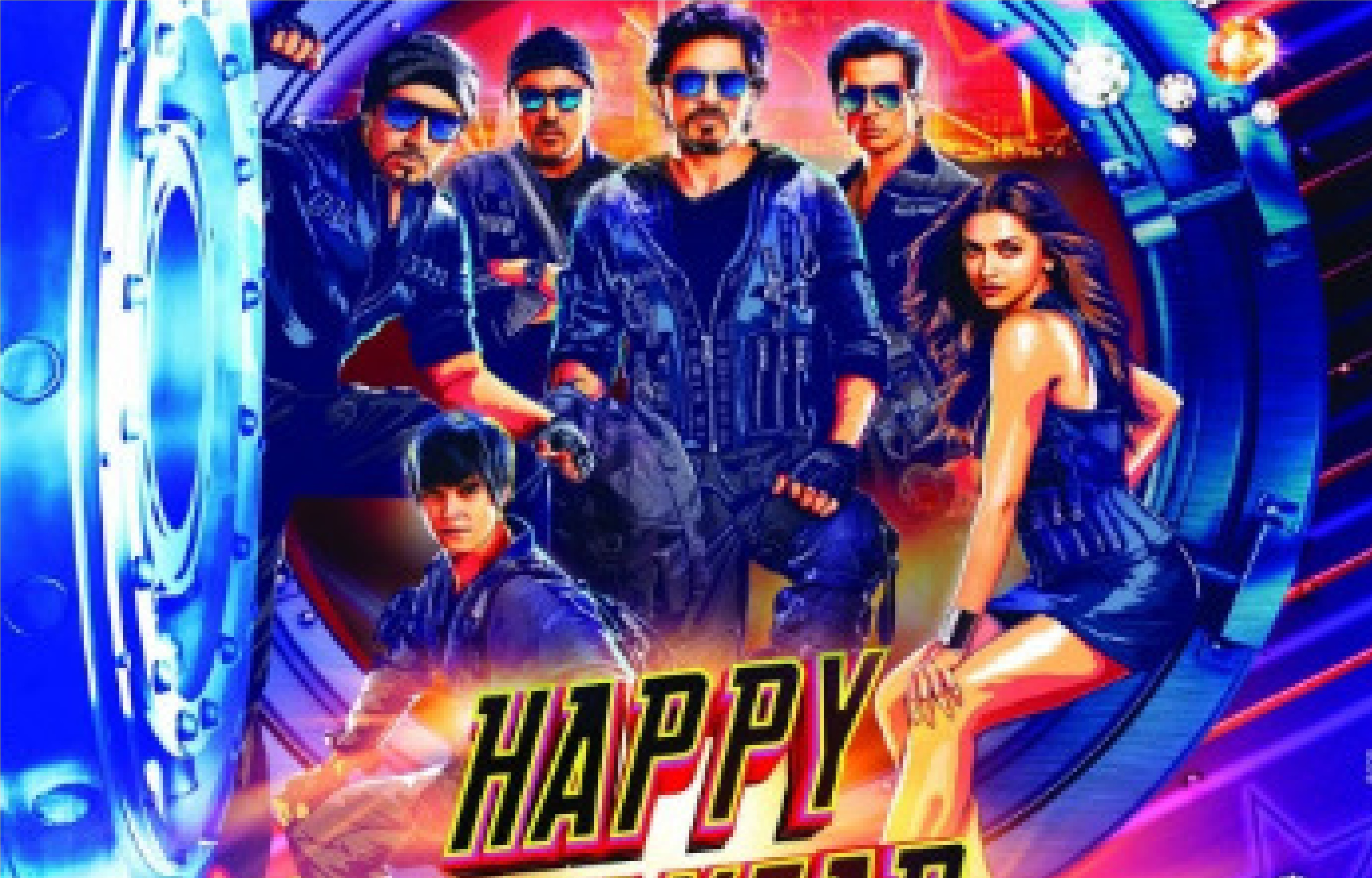 Movie Poster 2019: First Look At Shahrukh Khan And Deepika In New Film Happy